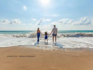 Surfreise mit der Familie