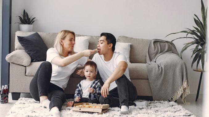 Eigenheim oder Miete mit der Familie
